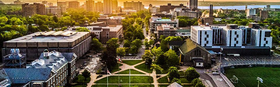Dalhousie campus (aerial view)